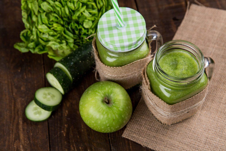 Apple Cucumber Smoothie